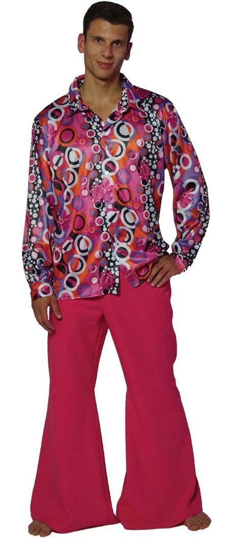 70 er jahre hippie kost 252 m 60er 70er jahre herren hemd und schlaghose faschingskost 252 me herren
