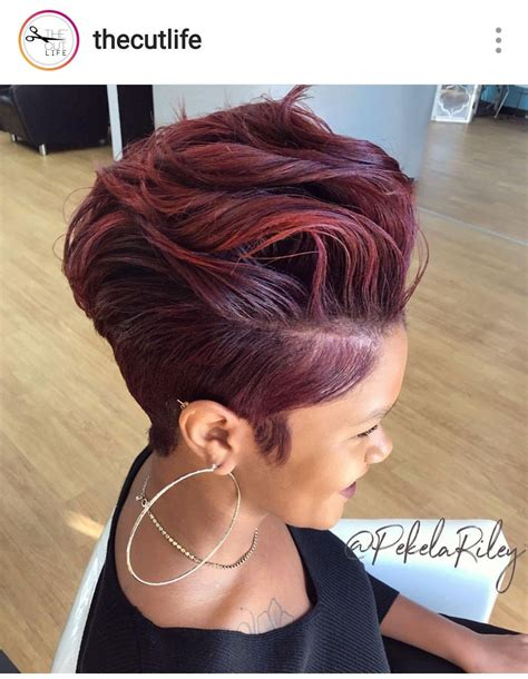 pin by tracy on shawt hair don t care in 2019