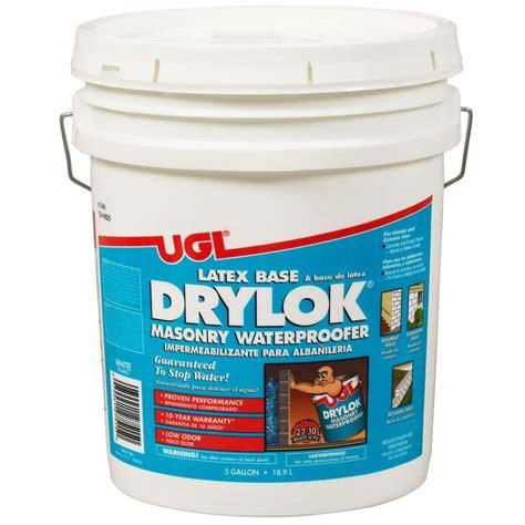 ugl 5 gal white ready mixed base drylok
