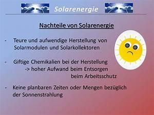 Sonnenenergie Vor Und Nachteile : vorteile und nachteile sonnenenergie wohn design ~ Orissabook.com Haus und Dekorationen