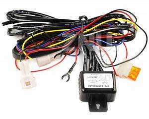 Reduce Car Light Led Drl Relay Harness Automatic On Off