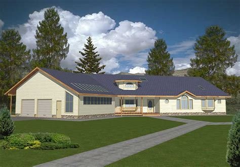 ranch concrete block icf design house plans home