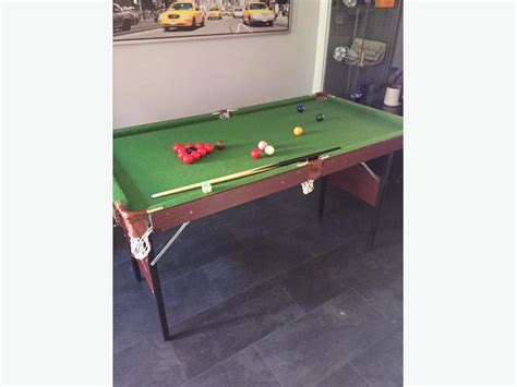 Omega Kids Pool/snooker Table 4ft 6in Tipton, Walsall