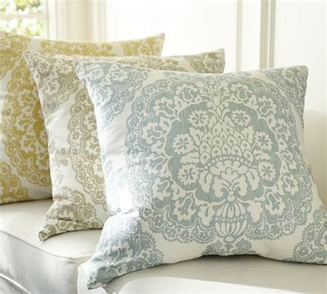 pottery barn throw pillows lucianna medallion pillow cover pottery barn