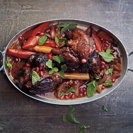 Moroccan Lamb Shanks With Pomegranate  Recipe Pork