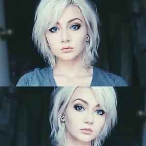 girl-with-platinum-blond-hair   Tumblr