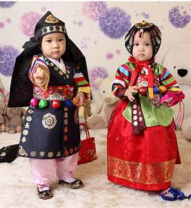 HANBOK - korean clothes,traditional dress,first birthday ...