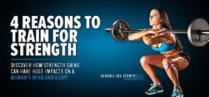 4 Reasons To Train For Strength  Discover How Strength Gains Can Have Huge Impacts On A Woman U0026 39 S