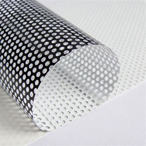 vision perforated window vinyl sycolor