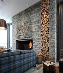 steinwand wohnzimmer beispiele dekosteine für wand eine geniale idee archzine net