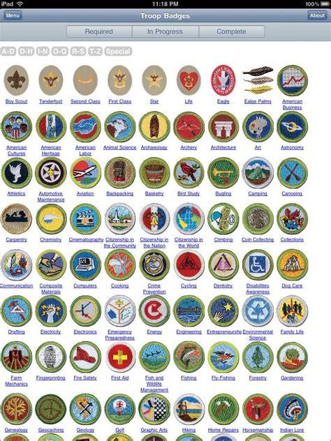 boyscout badge chart - Google Search   garden   Boy scout ...