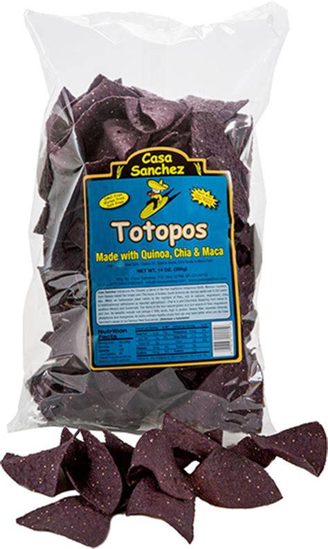 totopos tortilla chips casa sanchez