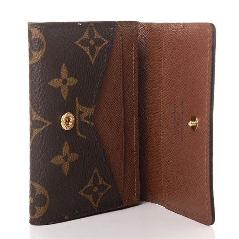 Maxgear business card holder, pu leather business card case pocket credit card holders, slim name card holder magnetic shut business card carrier for men or women, home. LOUIS VUITTON Monogram Business Card Holder 390241