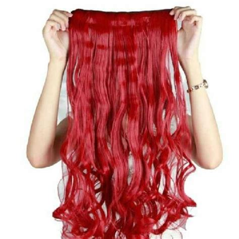 Brand Just In Clip In Synthetic Hair Extentions Brand 17