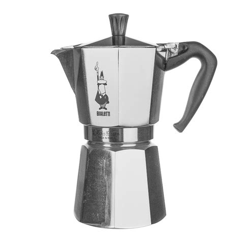 Bialetti venus induction 'r' stovetop coffee maker (6 cup) steel stovetop coffe makers with an essential style and harmonious shapes. Wheel&Barrow Homewares > Coffee Makers & Pots > ESPRESSO MAKER MOKA Stovetop 9 Cup Bialetti