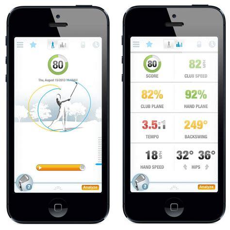 golf swing analyzer golfsense 3d golf swing analyzer for iphone