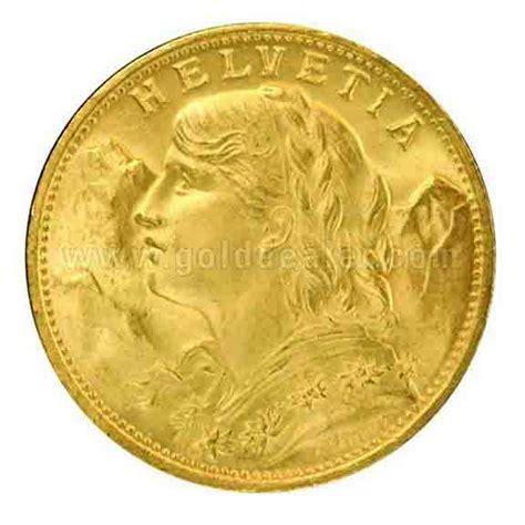 swiss franc backed  gold