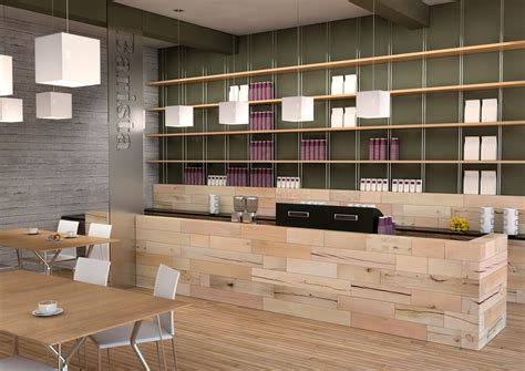 Hand drawn counter with bakery. CRAFTWAND® - coffee shop design | Architonic