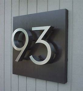 Best 25 house numbers ideas on pinterest address for Black metal house letters