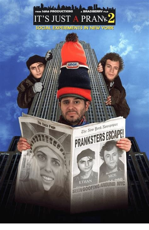 Ethan Bradberry Memes - from h3h3 productions a bradberry nu it s just a prank2 social experiments in new york unox page