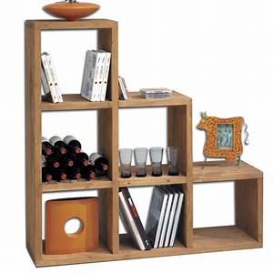 Etagere 6 Cases : une tag re cube 6 cases en bois massif toute preuve ~ Teatrodelosmanantiales.com Idées de Décoration