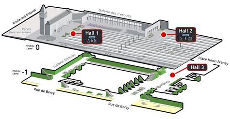 plans et orientation gare de lyon