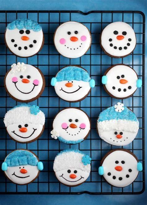 fun snowman christmas cookie decorating ideas love
