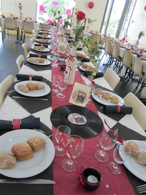 table bordeau ivoire noir mariage en  deco mariage