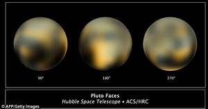 Pluto blushing: Nasa scientists capture most detailed view ...