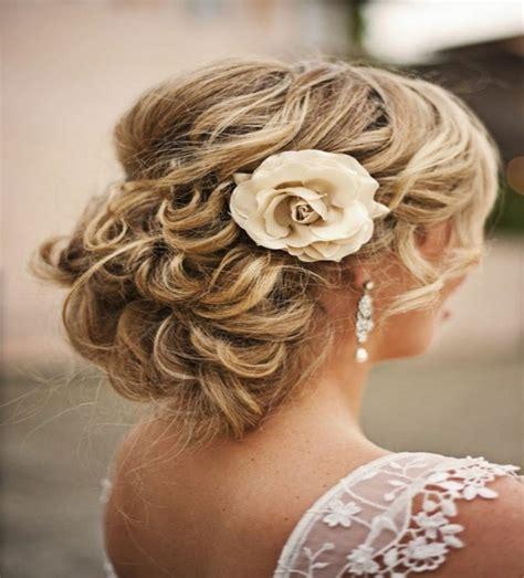 wedding hairstyles low loose bun hair