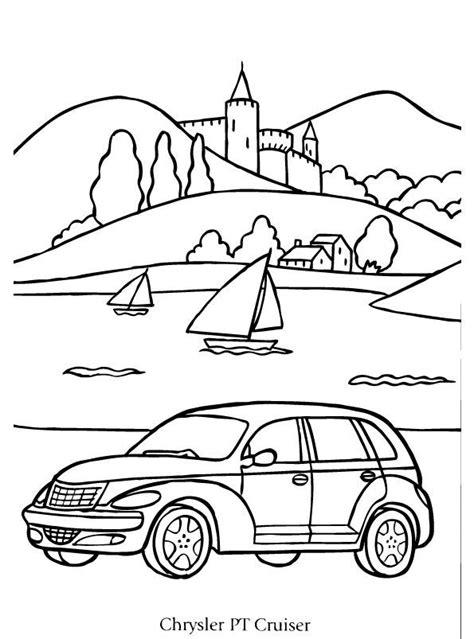 Kleurplaat Bmw X5 by Print Chrysler Pt Cruiser Kleurplaat Coloring Collection