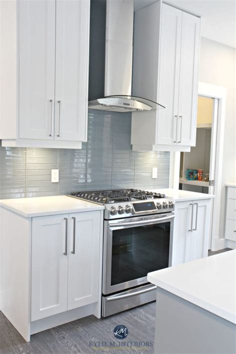 white shaker cabinets with quartz countertops white kitchen cabinets 3 palettes to create a balanced