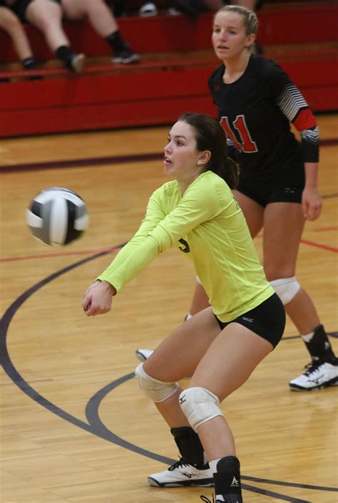 HS sports highlights: State-ranked TV volleyball wins ...