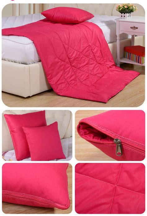 2 In 1 Kissen Decke Mit Reißverschluss Faltbare Kissen