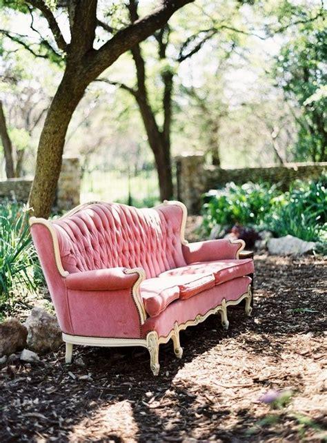 flea market chic velvet crush pink velvet velvet sofa