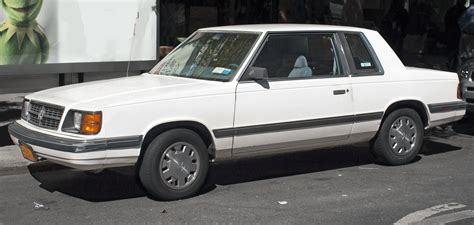 File:1988 Dodge Aries coupé front.jpg - Wikimedia Commons
