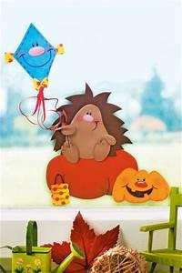 Herbstbasteln Für Fenster : 118 best images about herbstbasteln mit kindern on pinterest stick art deko and basteln ~ Orissabook.com Haus und Dekorationen