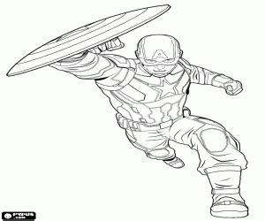 disegni  supereroi da colorare  stampare