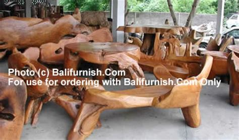 direct from java indonesia teak root furniture wooden