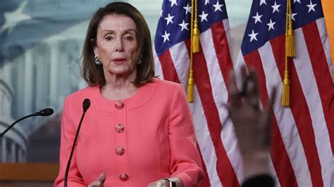 pelosi accuses barr  committing  crime justice