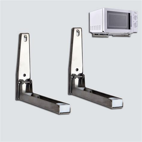 Microwave Oven Stand adjustable stainless steel wall mounted microwave oven