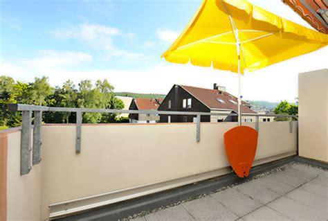 Sonnenschirm Für Balkongeländer sonnenschirm balkongel 228 nder prinsenvanderaa