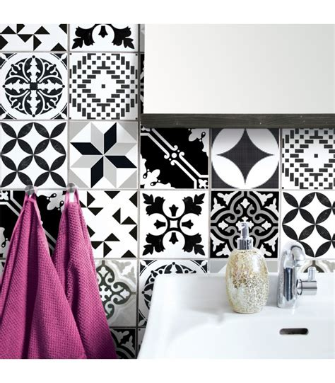 stickers carrelage cuisine stickers pour carrelage salle de bain ou cuisine bento wadiga com