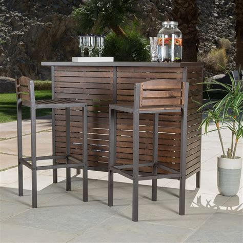 Outside Bar Furniture by Outdoor Bar The Garden And Patio Home Guide