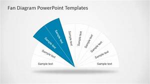 Fan Diagram Design For Powerpoint