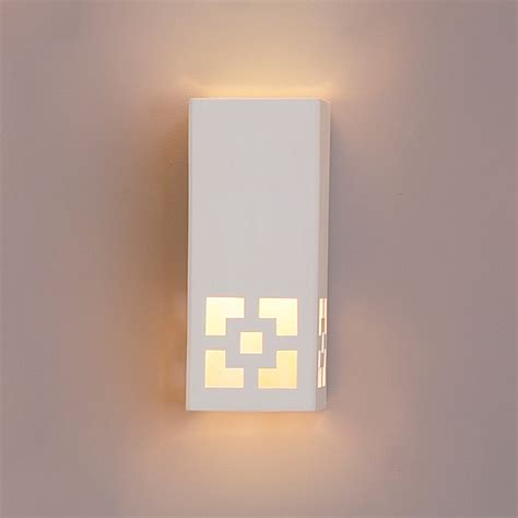 square sconce rectangular wall sconce geometric wall sconce