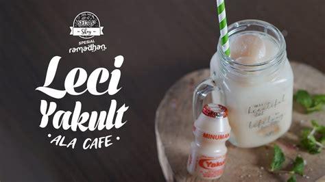 5 resep minuman kreasi berbahan dasar yakult. SEDAP SKOY: Resep Cara Membuat Es Leci Yakult, Minuman ala Cafe tapi Mudah Dibuat di Rumah - YouTube