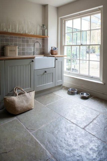 cobblestone kitchen floor 30 practical and cool looking kitchen flooring ideas 2293