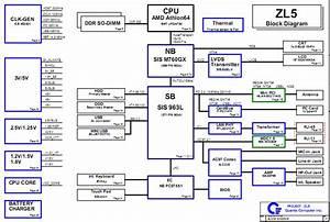 Acer Aspire 3000 5000 Notebook Schematic Diagram Zl5