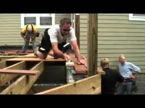 how to build a deck diy deck plans